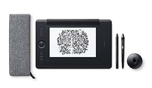 Wacom Intuos Pro Medium Paper Edition - Tablette Graphique à Stylet Professionnelle - Compatible avec Mac, Windows et de Nombreux logiciels de Créations - X Pouces - Noir