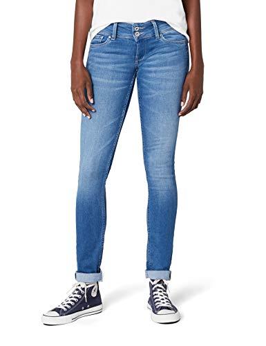 Pepe Jeans Damen Slim Jeans Vera 45yrs Blau (Denim) 29W / 32L