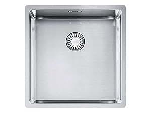 Sarments Box BXX 110–40Évier en acier inoxydable lisse Évier de cuisine encastrable avec bac Évier
