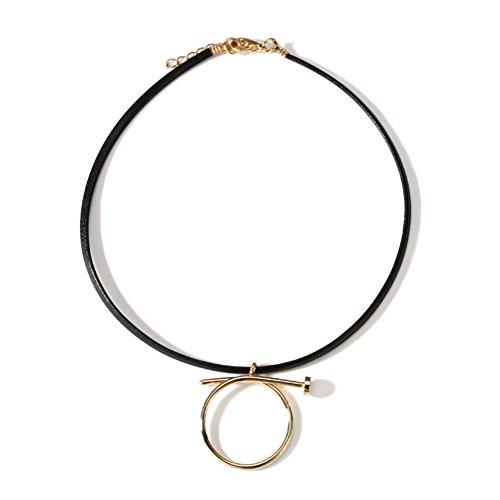 collo collana/ catene di clavicola/ maglia a catena corta/Versatile minimalista Pendente-A
