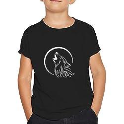 OKAPY Camiseta Capitan America. Una Camiseta de Niño con el Escudo de Capitán América Rasgado.Camiseta Friki de Color Negro