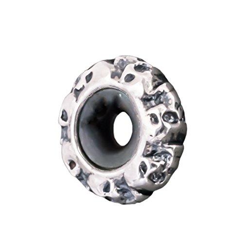 Thomas Sabo Damen-Bead-Zwischenelement 925 Silber mattiert - KS0008-648-12