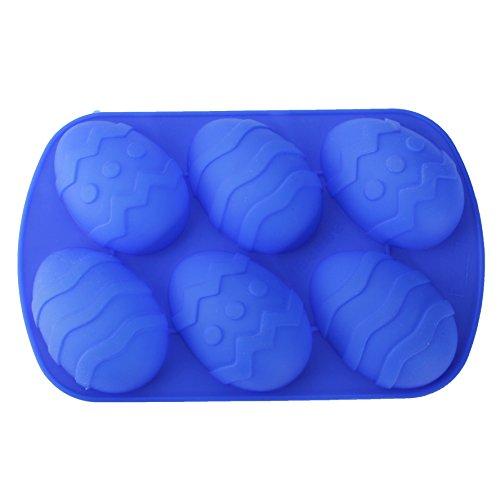 Pangun uovo di pasqua in silicone candela stampo torta sapone maker partito stampo da forno