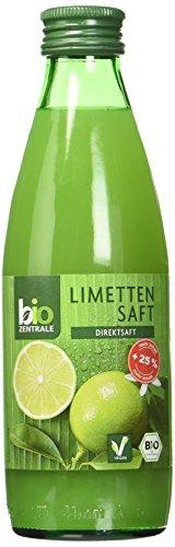 biozentrale Limettensaft, 6er Pack (6 x 250 ml)