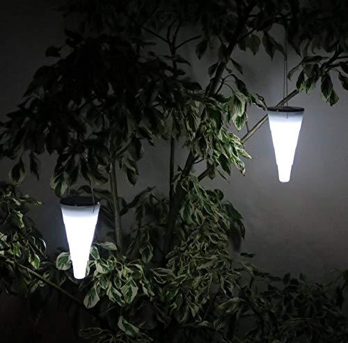 Frostfire Dropcone - Waterproof Solar Hanging Light