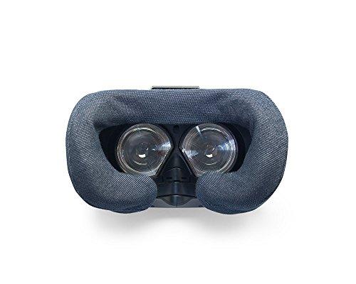HTC Vive VR Cover - maschera in cotone lavabile in lavatrice (confezione da 2 - blu marino)