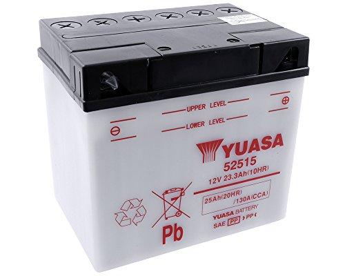 Batterie YUASA–52515Für BMW F650, S 600ccm Baujahr 93