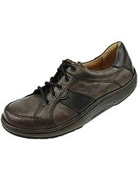 Ganter - Zapatos de Cordones de Piel Lisa para Mujer Bronze Schwarz 41 1 3 2fd7f6370dfa