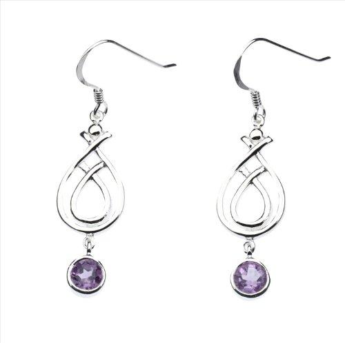ling Silber Ohrringe Keltisches Design ()