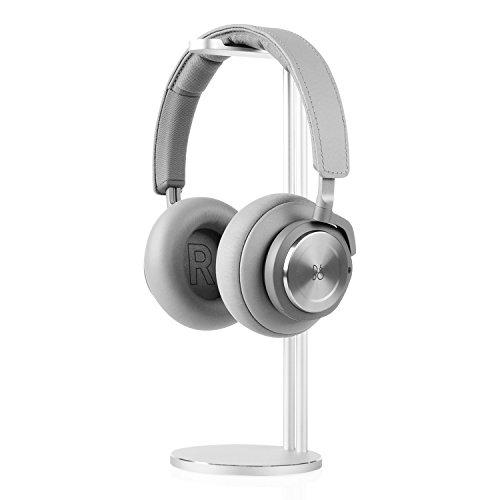 Jokitech universale alluminio cuffie stand. generic modern fashion cuffia mount. scrivania display mount. staffa per tutte le dimensioni del gioco. cuffie audio e cuffie - argento