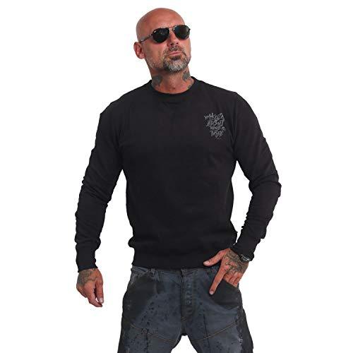 Yakuza Herren Basic Line 4W Pullover Sweater (Crew Clothing Stores)