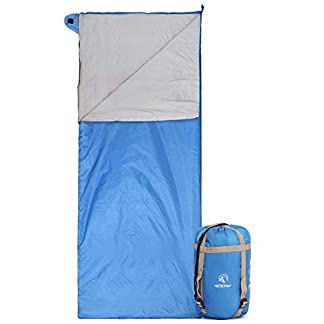 REDCAMP Lightweight Sleeping Bag for Adults, Ultralight Sleeping Bag for Summer 1-2 Season Warm Weather Backpacking 2