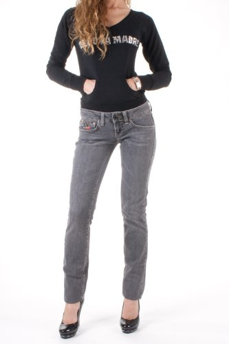 Clink jeans london -  jeans  - donna nero 36