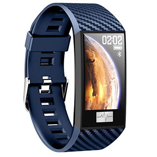 Fitness Armband mit Pulsmesser,Elospy Wasserdicht IP68 Fitness Trackers Farbbildschirm Pulsuhren Sport GPS Aktivitätstracker Smartwatch Schrittzähler Uhr für Damen Herren für iPhone Android Handy