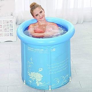 Bageek Aufblasbare Badewanne, Voor Volwassenen Opblaasbare Badkuip, Aufblasbare Badewanne ,Bathtub Foldable, Kunststof, Superdik