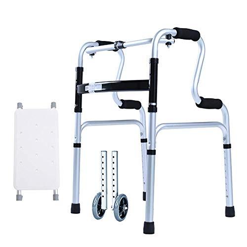 STOUBYT FURNITURE CASA mit Badewanne Platte + mit Rädern Senioren Aluminiumlegierung Behinderte Walker Vintage Walker Rollstuhl -