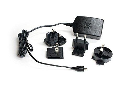 Offizielles Raspberry Pi 3 Netzteil schwarz - 2,5A/5V