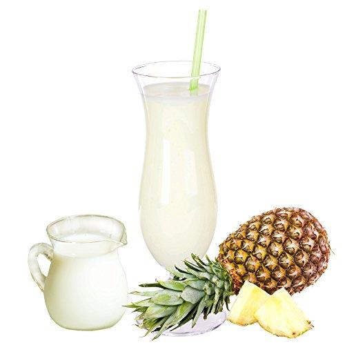 Buttermilch Ananas Geschmack Eiweißpulver Milch Proteinpulver Whey Protein Eiweiß L-Carnitin angereichert Eiweißkonzentrat für Proteinshakes Eiweißshakes Aspartamfrei (1 kg)