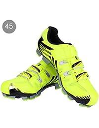 Alomejor Zapatillas de Ciclismo Antideslizantes para Hombre de 1 par de Zapatillas para Ciclismo de montaña MTB(40…