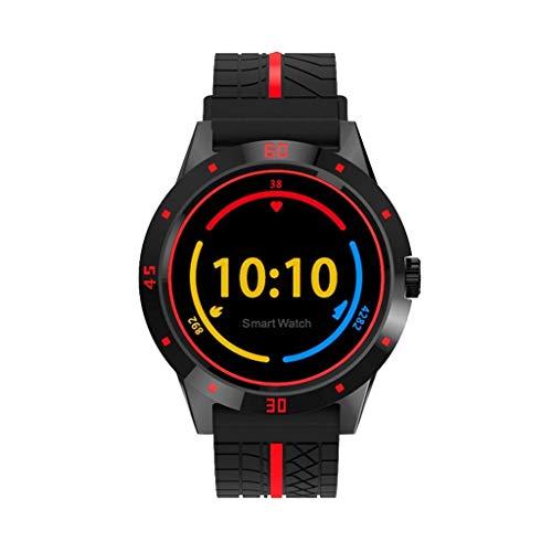 ZMEETY Smartwatch Mit Touchscreen Und Mehreren Sportmodi, Smartwatch Mit Herzfrequenzerkennung - Intelligentes Armband Mit HD IPS-Display,Black - Automotive Computer-speicher