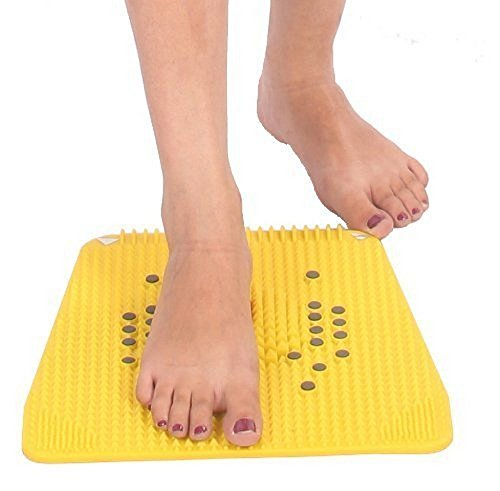 AHCS Acupressure Powermat Plate with 2000 Magnet Pyramids