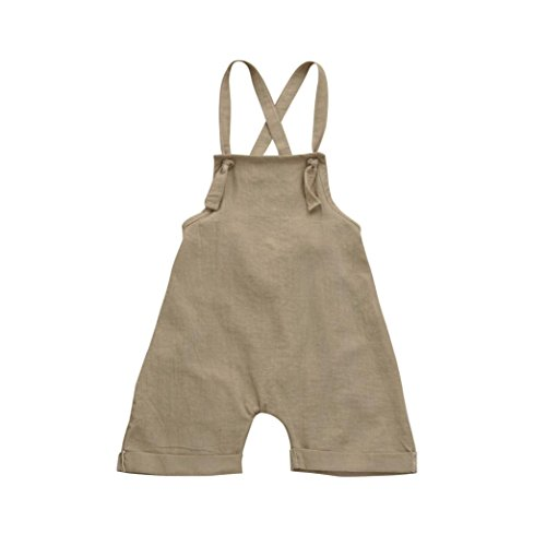 LuckyBB Toddler Kids Baby Boys Overall Harem Straps Romper Playsuit Clothes Outfits