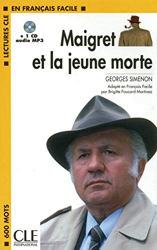 Maigret et la jeune morte - Niveau 1 - Lecture CLE en Français facile - Livre + CD