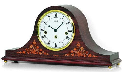 AMS T2188/1 Reloj de Mesa, Madera, 44 x 36 x 19 cm: Amazon.es: Hogar