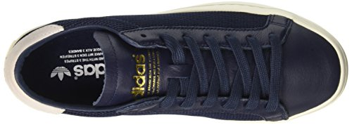 adidas Court Vantage, Sneaker Bas du Cou Homme Bleu (Collegiate Navy/collegiate Navy/ftwr White)