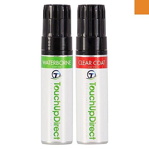 Preisvergleich Produktbild TouchUpDirect Plymouth All genau übereinstimmender Ausbesserungslack für Autos - K-2 (1970) Vitamin C Irid. - 0.5 oz. Topf