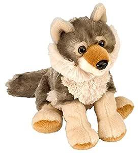 "Wild Republic Wolf CK-Mini 8"" Animal Plush"
