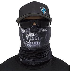 A.S.98 SA Fishing Company Face Shield Sturmhaube Bandana Gesichtsmaske Halstuch Ski Motorrad Paintball Halloween Maske