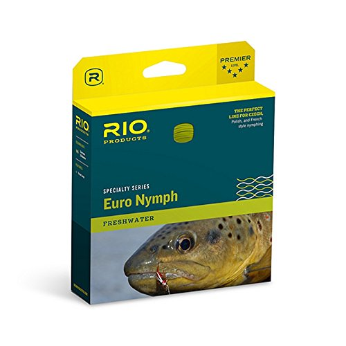 Rio marques Fly FIPS Euro Nymphe Ligne, Fluo, taille unique