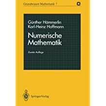 Numerische Mathematik (Grundwissen Mathematik) (German Edition)