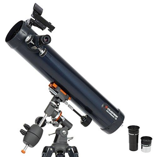 Celestron AstroMaster 76EQ 35x - Telescopio (66 cm, 8,16 kg, Acero)