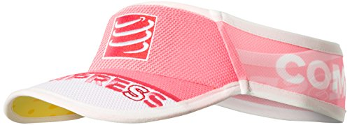 Compressport Ultralight - Visera unisex, color rosa fluor, talla única