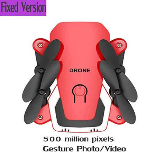 Drohne mit HD Kamera 1080P,GPS Return to Home,Follow Me,Lange Flugzeit,rc quadrocopter, Auto Höhenhaltung,verfolgung Coming Home für,Anfänger und Experte,Red