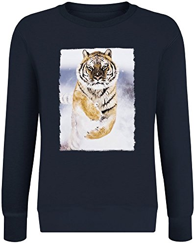 Leap of Faith Sweater-Jumper for Men & Women - Soft Cotton & Polyester Blend - High Quality DTG Printing - Custom Printed Unisex Clothing