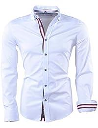 023f898bd40e Carisma - Chemise Tendance Homme Chemise 8426 Blanc - Blanc