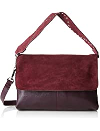 6581facd0 PIECES Pckiona Leather Large Cross Body Dc - Bolsos bandolera Mujer