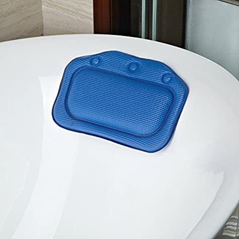 Halovie Bathtub Pillow with Strong Suction Cups Spa Bath Pillow