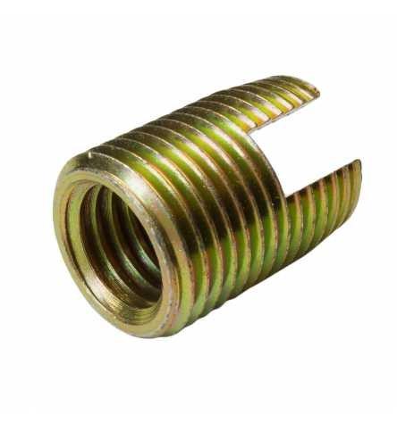 Reidl Gewindeeinsätze M 10 Stahl galv. verzinkt gelb 10 Stück