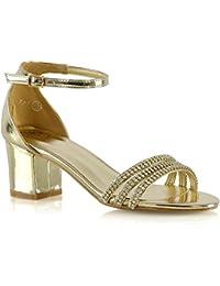Calzature & Accessori dorati per donna Essex Glam