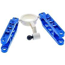 1 x Lego Technic Rad Lenkung Arm creme weiss Pin Loch 2 Gelenk Kugel 8880 6540a