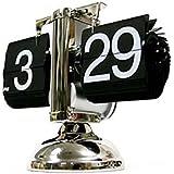 Modern Escala automática del tirón solo soporte del metal tabla del escritorio del reloj retro