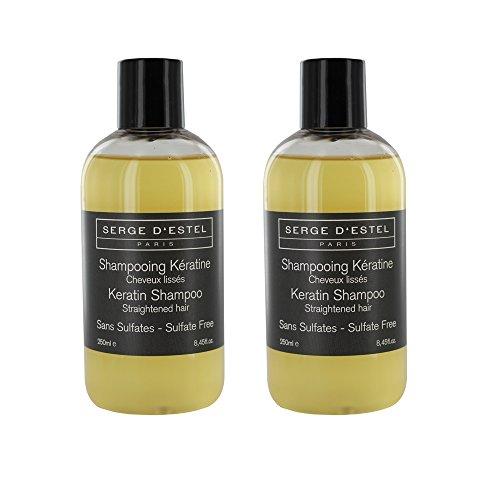 Shampoo ohne Sulfate zu das Keratin 500ml. Verlängert LissAge brésilien, Haar geglättet Restrukturierung. Haut, Glättendes.