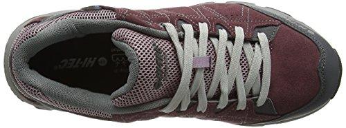 Hi-Tec Libero Ii, Chaussures de Randonnée Basses Femme Violet (Plum/Elderberry/Lt Grey 090)