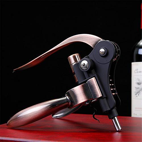 flaschen verschicken Amber Zheng Flaschenöffner Flaschenöffner-Set Aus Zinklegierung Weinflaschenöffner Zum Verschicken Von Vakuumstopfen, Bronze