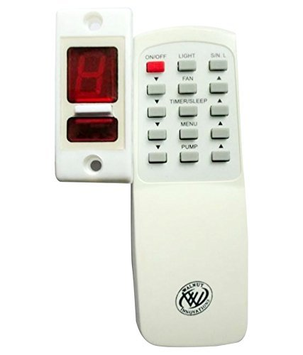 Walnut Innovations Wireless Remote Control for Light & Fan with Speed Regulation