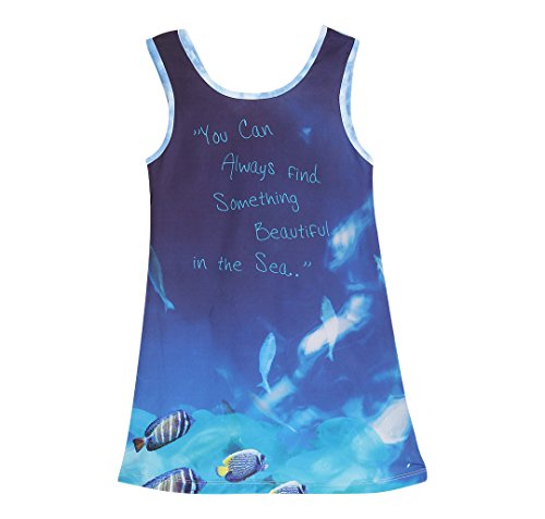 FS Mini Klub Girls' Dress (88KGODR0459 BL_4Y, Blue, 4Y)  available at amazon for Rs.195